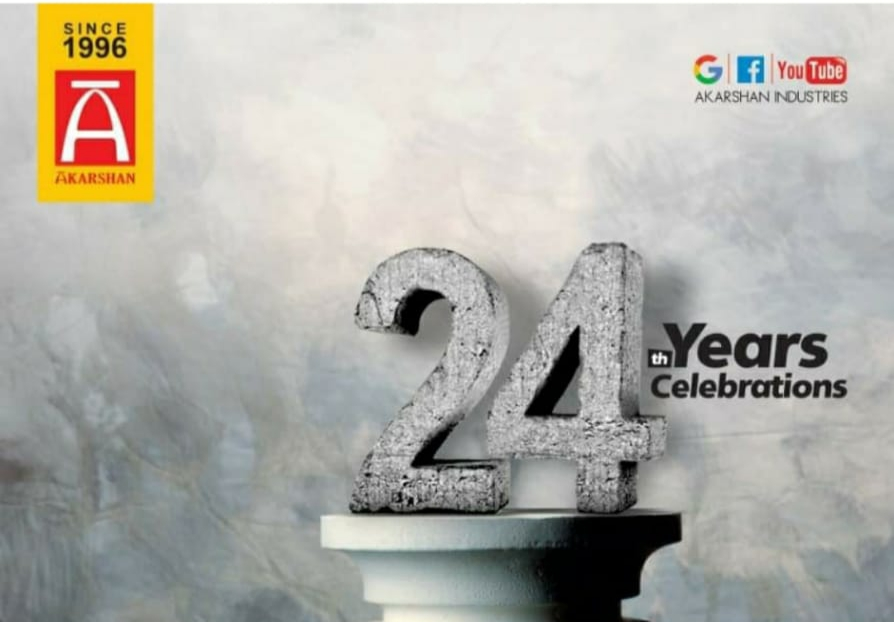 24th anniversary of our company.