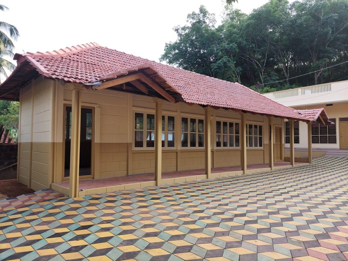 School building built in just 20 days